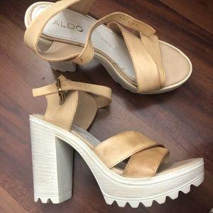 """ALDO 4"""" Platform Heels"""